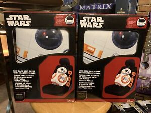 Star Wars Bb 8 Car Seat Cover Universal Fit Low Back Bucket Seats Set Of 2
