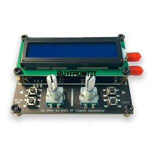 Max2870 Signal Generator 23 5mhz 6ghz Signal Source Usb Sma Differential Output