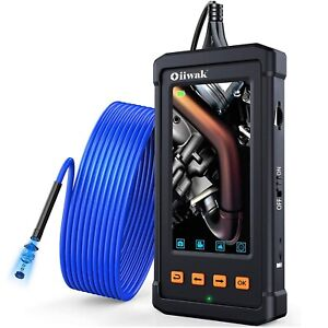 Industrial Endoscope Waterproof Borescope Inspection Snake Camera Sewer Pipe Fix