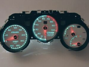 Greddy Cluster Toyota Supra 320kmh Exclusive Conversion Oem To Greddy