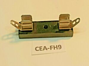 Rep fh9 Block style Fuse Holder 3ag Agc Glass Ceramic Fuses Up To 15 Amps