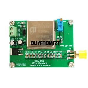 10mhz Frequency Standard 10mhz Ocxo Frequency Reference Board Sine Wave Tzt top