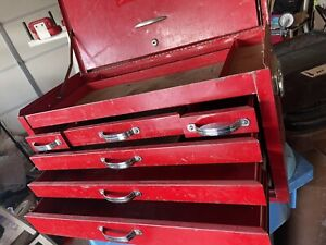 Vtg 1960 s Mac Tools Chest
