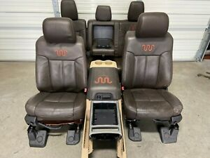 1999 2016 Ford F250 F350 F450 Super Duty King Ranch Front Rear Seats