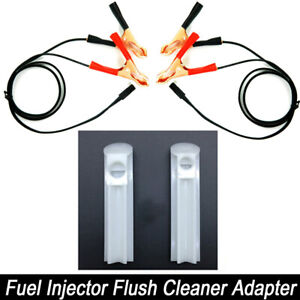 Diy Universal Vehicles Fuel Injector Flush Cleaner Adapter Kit Car Cleaning Tool