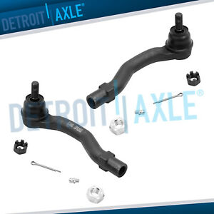 Pair Front Outer Tie Rod Ends For 2002 2003 Lexus Es300 Toyota Camry Highlander
