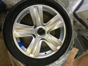 19 Bentley Continental 06 07 08 09 10 Factory Oem Rim Wheels Silver