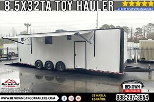 8 5x32 Ta Enclosed Toy Hauler With Bathroom Package