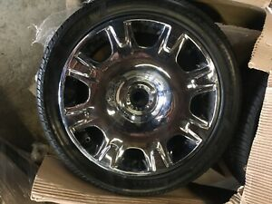 Set Of 4 New Chrome 19 Bentley Continental Flying Spur Oem Wheels Rims Nh1101