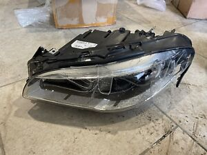 Bmw 5 Series F10 Lci F11 Full Led Headlight Adaptive Left Original Oem 14 16 L