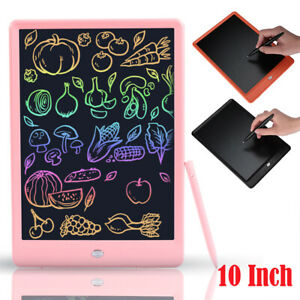 10 Inch Lcd Board Message Writing Pad Board Tablet Drawing Tablet Memo For Kids