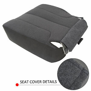 Driver Side Bottom Cloth Seat Cover For Dodge Ram 1500 2500 3500 2003 05 Slt Xe