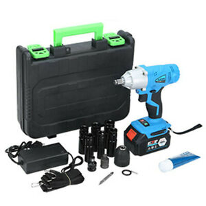 1 2 Inch Electric Brushless Cordless Impact Wrench Drill High Torque Power Tool