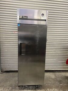 1 Door Refrigerator Stainless Upright Reach In Nsf Cooler True Tg1r 1s 5417