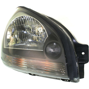 1x For Hyundai Tucson 2005 2009 Right Headlight With Clear Turn Signal Light New