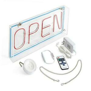 Craft Creator Open Sign Led A Neon Style Light For Small Business Retail