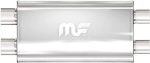 Magnaflow Performance Exhaust Muffler Dual Oval Stainless Steel 3 Inch 12599 New