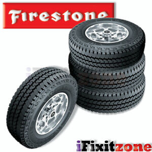 4 Firestone Transforce At2 Lt265 75r16 123 120r Tires Commercial Truck Van