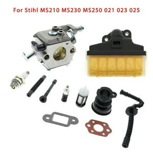 Air Filter Kit For Stihl Ms210 Ms230 Ms250 021 023 025 Chainsaw Carburetor Parts