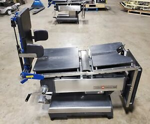 Amsco 2080 Manual Surgical Table W tenet Patient Positioner