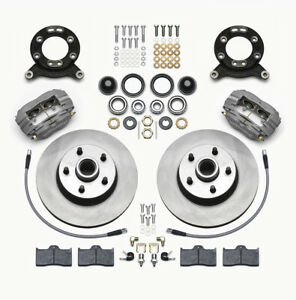 Wilwood 140 13476 Classic Series Dynalite Front Brake Kit 1965 1970 Ford Mustang