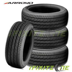 4 Arroyo Grand Sport 2 195 40r16 80v Xl Tires Performance 400aa 50k Mile A S