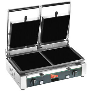 Cecilware Tsg 2f Double Panini Sandwich Grill With Flat Surfaces