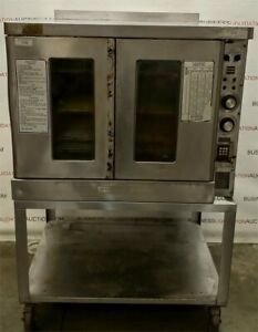 Hobart Commercial Convection Oven W Stand Model Cn90 Full Size Excellent