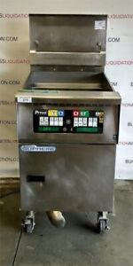 Pitco Gas Fryer Noodle Cooker Solstice Supreme Sfssh60w With Filtration System