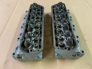 87 93 Ford Mustang Cylinder Heads Factory Gt 302 Engine Ho Rebuilt Stud Mount