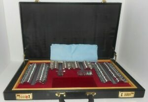 Optimark Optical Trial Lens Set 208 Pcs In Wood Case And Brief Case Good Shape