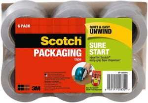 Moving Storage Packing Tape 1 88 X 25 Yd 6 Rolls Heavy Duty Shipping Packaging