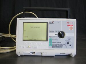 Zoll M Series 3 Lead Biphasic Monitor With Printer And Battery