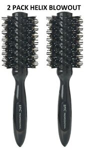 2 Pack Wet Brush Pro Epic Boar Helix Intelliflex Blow Out Round Brush 2