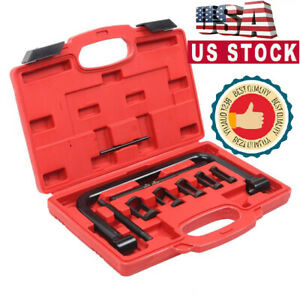 5 Sizes Car Motorcycle Valve Spring Compressor Pusher Automotive Tool Set Us