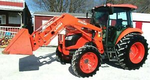 2016 Kubota M7060 Cab 4x4 Loader 2736 Hrs free 1000 Mile Delivery From Ky
