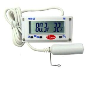 Pmrh120 Compact Thermometer And Humidity Panel Meter