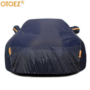 5 Layers Full Car Cover Waterproof All Weather Protection Anti Uv Cotton Lining Fits 2013 Honda Accord
