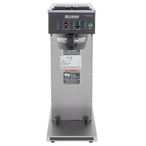 Bunn Cwt15 aps Airpot Brewer With Black Plastic Funnel And No Hot Water Faucet