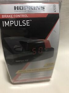 Hopkins Towing Solution 47233 Impulse Electronic Brake Control