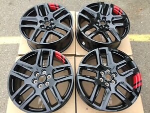 20 Chevy Blazer 2019 2020 Oem Redline Red Line Wheels Rims Set New 5849 5898