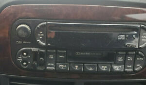 2002 2005 Dodge Ram 1500 Am Fm Cd With Cassette Player Radio Receiver
