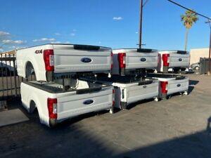 Ford F250 F350 8 Truck Bed Srw Complete 2017 2021 With Lights And Bumper