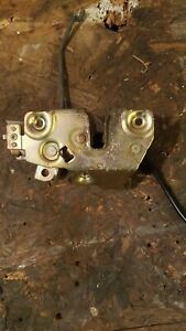 88 91 Honda Crx Tail Gate Trunk Hatch Latch Assembly Used Oem Good Condition