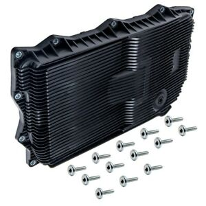 Black Automatic Transmission Oil Pan For Jeep Grand Cherokee For Dodge Charger