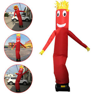 10ft Inflatable Advertising Air Puppet Dancer Sky Wavy Tube Man Without Blower