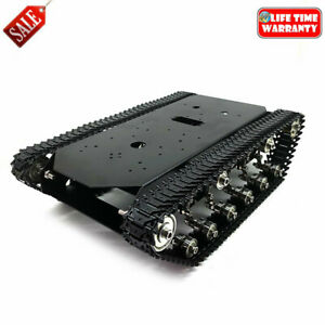 Ts700 Tracked Robot Chassis Robot Tank Metal W motor Encoding Disk No Controller