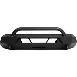 Black Front Bumper Guard Bull Bar For Toyota Tacoma 16 20 Steel Powder Coated