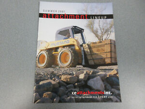 Mustang Skid Steer Loaders Attachments Brochure 16 Page