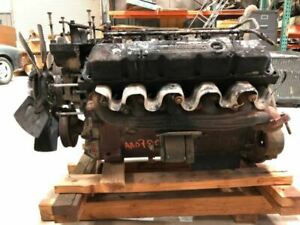 2001 Dodge Ram 3500 Used V10 8 0 Gas Long Block From Top Fire 234k Pickup 24979